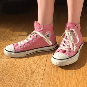 Kids Converse high-top. Size 3.